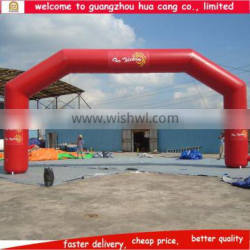 Factory customezed best price inflatable arch with logo for advertising