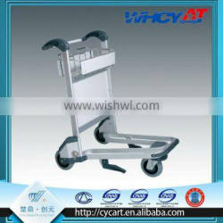 Airport Luggage Trolley with brake system