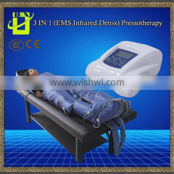 Professional massage EMS infrared body slimming Pressotherapy Presoterapie lymphatic drainage machine