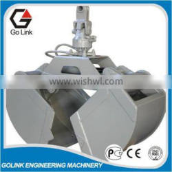 widely used two-jaw hydraulic grab for crane,dredging grab bucket