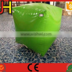 OEM Factory Custom Inflatable Box Shape Paintball Bunkers