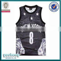 fashion sportswear all over 3d printing vest/tank top sublimation