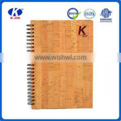 Wholesale cork paper notebook for sale as a gift
