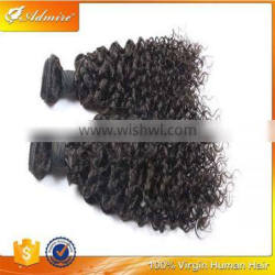 Best Selling in Africa Jerry Curl Unprocessed Remy Human Hair Wig