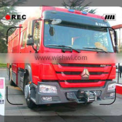 CNHTC 2AXLES FIRE FIGHTING TRUCK