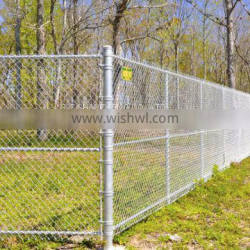 Chain link fence rolls security fence
