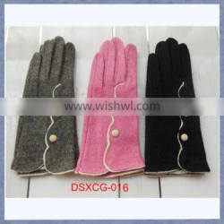 Smartphone touch screen cashmere glove