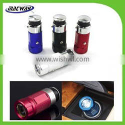 3 in1 LED Mini Rechargeable Aluminum LED Car Charger Flashlight