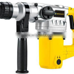 Wintools 1050w Heavy Duty Rotary Impact Hammer Power Drill, Chisels & Drill Bits Complete In Carry Storaged