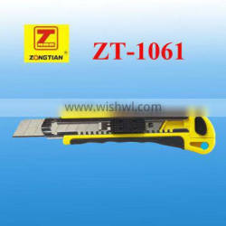 utility knife of three running blades factory directly supply wholese