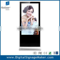 Flintstone advertising marketing 55 inch digital signage kiosk advertising display