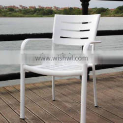 Hot sale modern cheap price high quality aluminum colorful optional dining chair