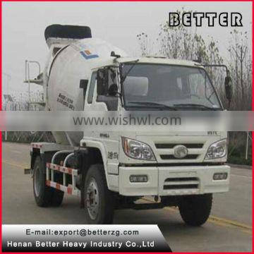 Henan Better than used concrete mixer truck with pump