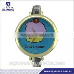 Simple pictures printed 2012 fashion watches for girls