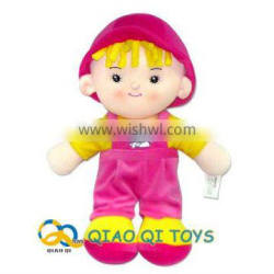 16 inch sitting velvet soft touth boy doll