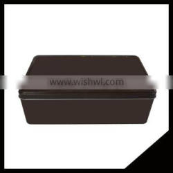 Delicate New Customized Designed China Manufacturer Rectangle Metal Candy Tin With High Quality