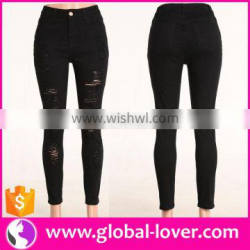 Ladies Jeans Factory Fat Women Jeans China Custom Made Jeans