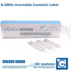 RF retail shop security cosmetics labels EAS RF 8.2Mhz soft tag for supermaket