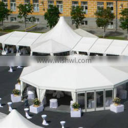 Manufacturer of different designs and sizes Marquee Tents Aluminum frame PVC tent.