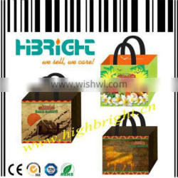 stylish laminated PP non woven bag for grocery shopper