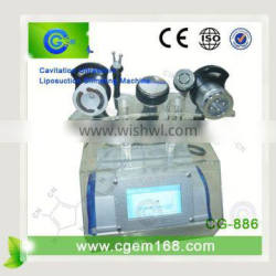 CG-886 Hot sale 26% reduction fat dissolving multipolar rf ultracavitation machine for slimming for sale