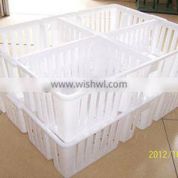Chicken Plastic poultry transport cage for child chicken