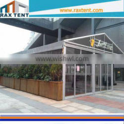 luxury hotel marquee tent