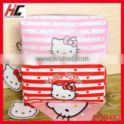 Hot selling beautiful professional leather cosmetic bag for girls