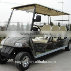 CE approved 6 person big golf cart