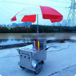 Mobile Western Food Cart & Snack Shop for Sale with Bike & Cart Body to Sell Food XR-HD100 A