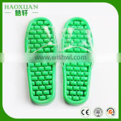 Plastic bathroom massage anti-slip slippers with competitive price