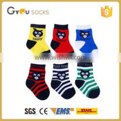 Wholesale Cotton Colorful cartoon Baby Socks/tonny socks/high quanlity socks