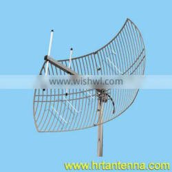 1500MHz 20dBi Outdoort Directional Point To Point Grid Parabolic Antenna TDJ-1500HST20