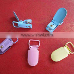 fashion colored suspender clips HS0145