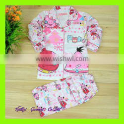 kids 100% cotton pajamas set