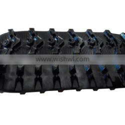 Hot Sale Small Size Snow Blower Rubber Track