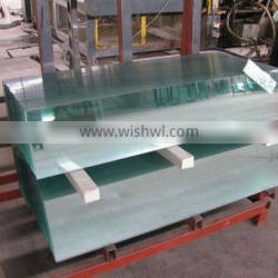 4/5/6/8/10mm Heat Strengthed Tempered Glass EN12150