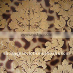 super soft gold gilding velour fabric