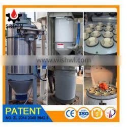 WAM dust collector for cement silo