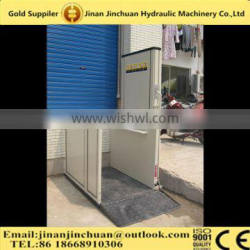 2016 Low Price Elevator Wheelchair Lift For Disabled folding ladder