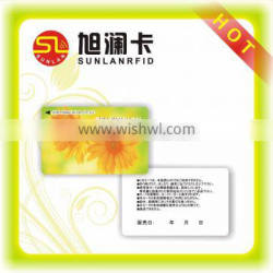 PVC Magnetic Strip Credit Card S50 with Full Color Printing
