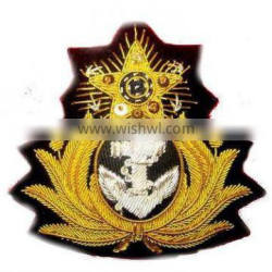 hand made embroidered badges/patch/embroidery patch/embroidery textile patch