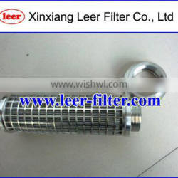 Polyester Filtration Pleated Wire Mesh Filter Element