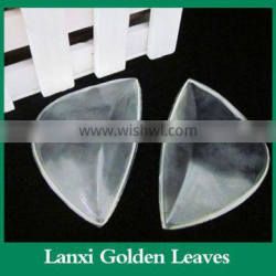 Clear silicone gel adhesive arch insole