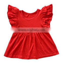 Christmas baby clothes latest fashion clothing kids summer wear Tops and shirts