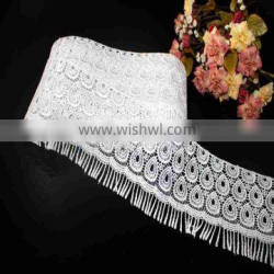 high quality 100% POLYESTER CHEMCIAL LACE