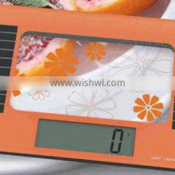 5kg scale precise scale OEM scale weighing machine vegetable electronic food scale fruit scale solar digital kitchen scale