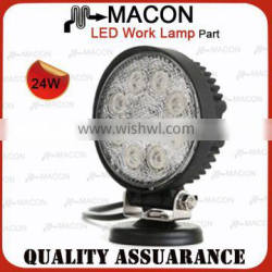 24W Lens material PC Used cars for sale cheap auto led work light