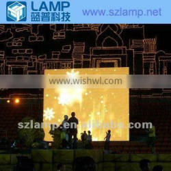 LAMP P16 P20 outdoor tri-color mobile led graphic screen