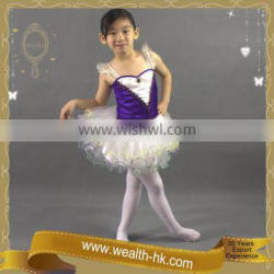 Purple Ballerina for Girls Dancing Dress